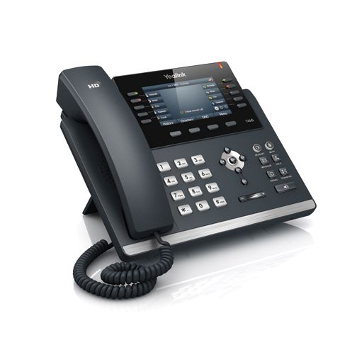 The SIP-T46G is Yealink latest revolutionary IP Phone for executive users and busy professionals. New designs appears the commerce, with highresolution TFT color display, delivering a rich visual experience. Yealink Optima HD technology enables rich, clear, life-like voice communications. Yealink - the Global TOP 3 SIP Phone Provider