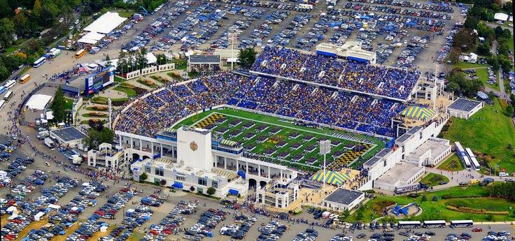 Annapolis, Maryland, Naval Academy Football Stadium.