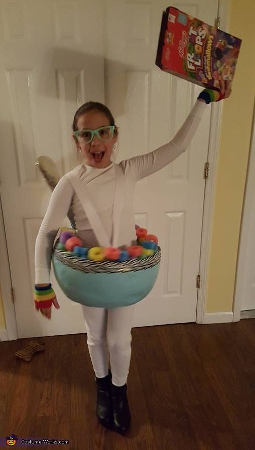 Cereal Bowl Costume | Diy costumes, Halloween costumes and ...
