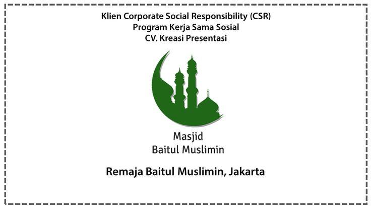 Csr Remaja Baitul Muslimin Jakarta