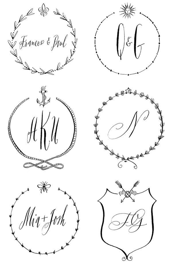 Custom crests from Stephanie Fishwick