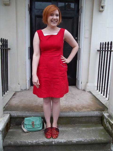 Colette Patterns Rooibos Dress