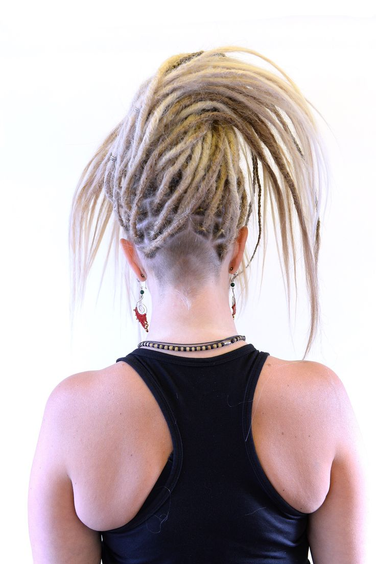 Alot of people think that there is only one way to do dreadlocks in. Let me tell you that dreadlocks is a way to wear your hair and you can style it in anyway possible, you can have some parts loose, you can have some parts shaved it's only your own imagination that will stop you! Be creative today!