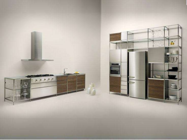 Cucina Componibile In Multistrato MECCANICA By VALCUCINE | Design Gabriele  Centazzo