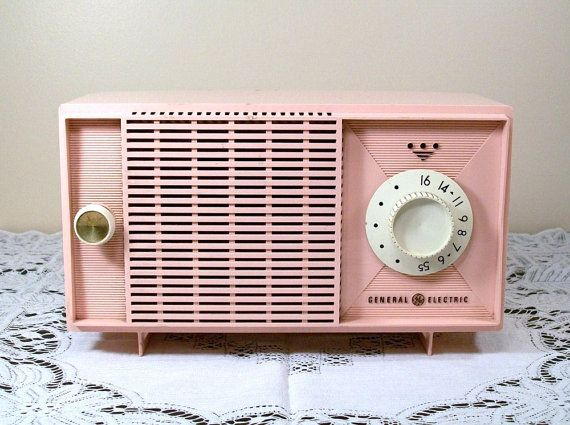 The one in my dream house will work, but if it comes down to it, I can just stick a working radio inside this one. #vintage #pink #retro $17.50