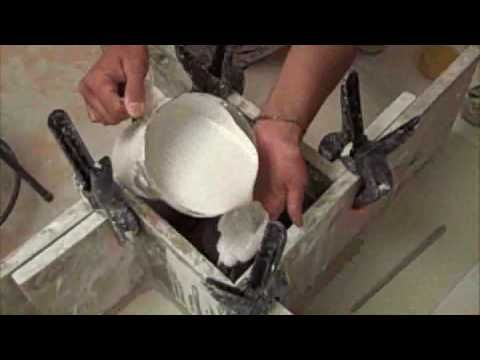 Pottery: plaster Mold Making Video Making a One-Piece Plaster Mold2.flv