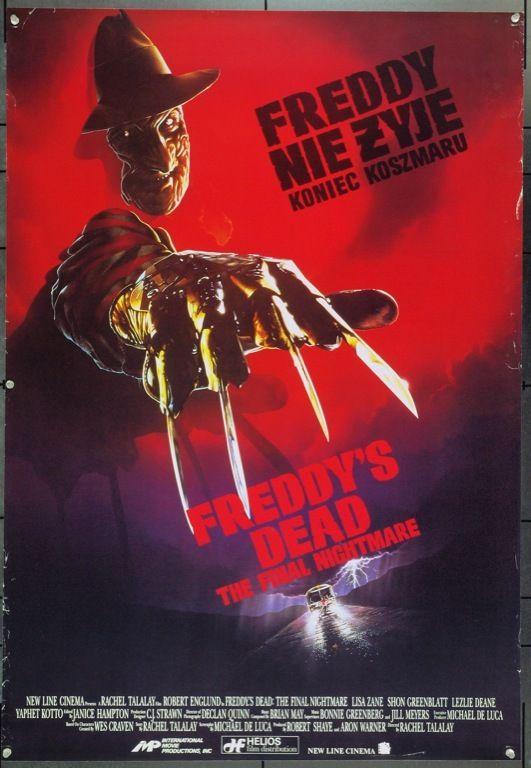 MovieArt Original Film Posters - FREDDY'S DEAD: THE FINAL NIGHTMARE (1991) 22056, $25.00 (http://www.movieart.com/freddys-dead-the-final-nightmare-1991-22056/)