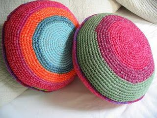 almohadon crochet