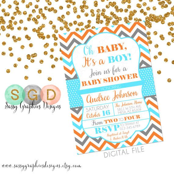 17 Best ideas about Baby Boy Invitations on Pinterest   Baby ...