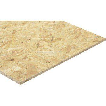 Panneau osb 3 3 plis épicéa naturel, Ep.12 mm x L.250 x l.125 cm | Leroy Merlin