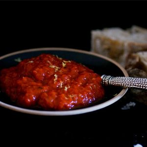 Rick's red pepper purée and other recipes to add to make the Ultimate Braai Recipe Guide!