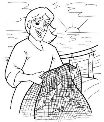 Mateus 4:19 E disse-lhes: Vinde após mim, e eu vos farei pescadores de homens.Mateus 4:20 Então, eles deixaram imediatamente as redes e o seguiram.
