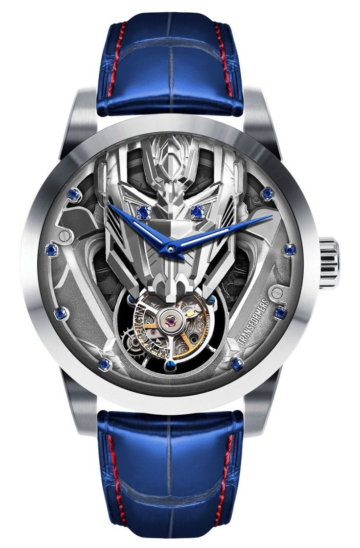 Hong Kong Memorigin Transformers Tourbillon limited edition watches in two versions with either Optimus Prime or Bumblebee dials.