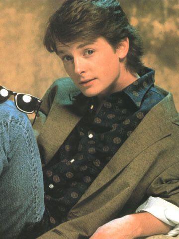 one of my teenage crushes...Michael J. Fox!