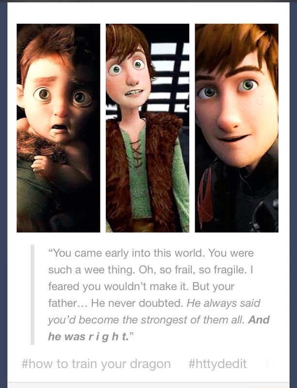 I was watching this and at this moment it clicked that Hiccup was a preme and that's why he was also so small and thin.