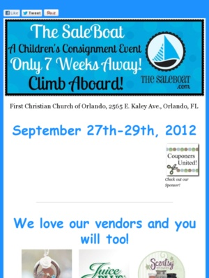 Great consignment event in Orlando!