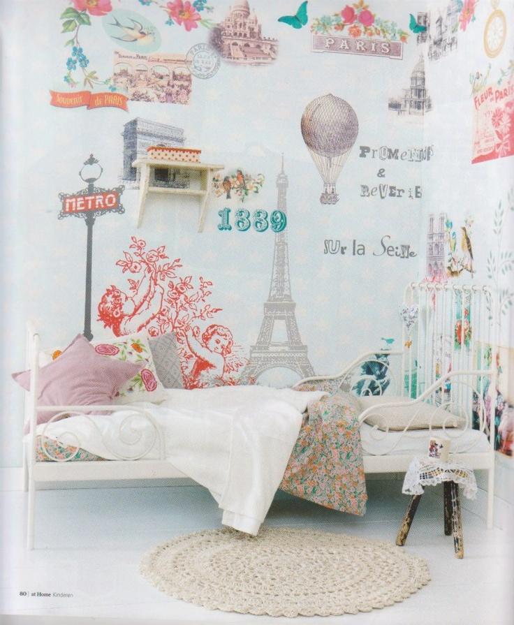 25 beste idee n over kinderen slaapkamer ontwerpen op pinterest gedeelde slaapkamers - Thema slaapkamer meisje ...