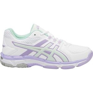 Asics Gel 540TR GS - Kids Girls Cross Training Shoes - White/Bay/Lavender