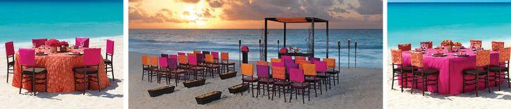Mexico Wedding Ceremony | El Sol Collection | Hard Rock Hotel in Mexico