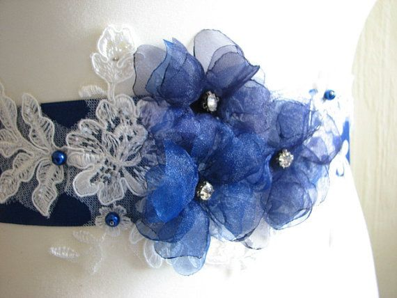 Azul real marco boda azul marino marco azul por WhiteBridalBoutique