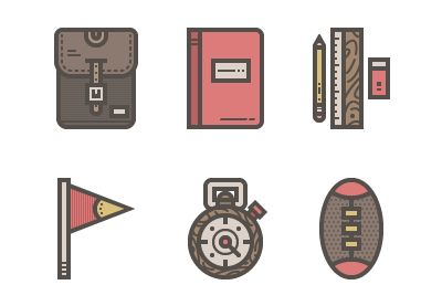 How to Create a Retro High-School Icon Pack in Adobe Illustrator