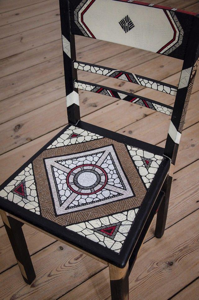 Werkstatttraum Painted Chair-9
