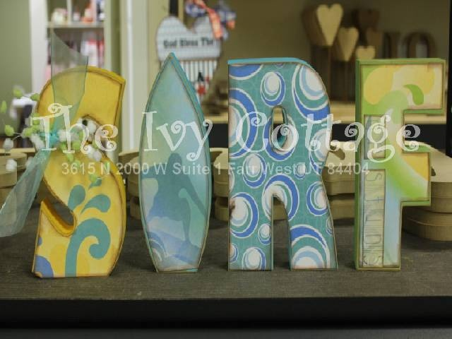 Summer surf kits! Great for seasonal decor or for a teen's room!