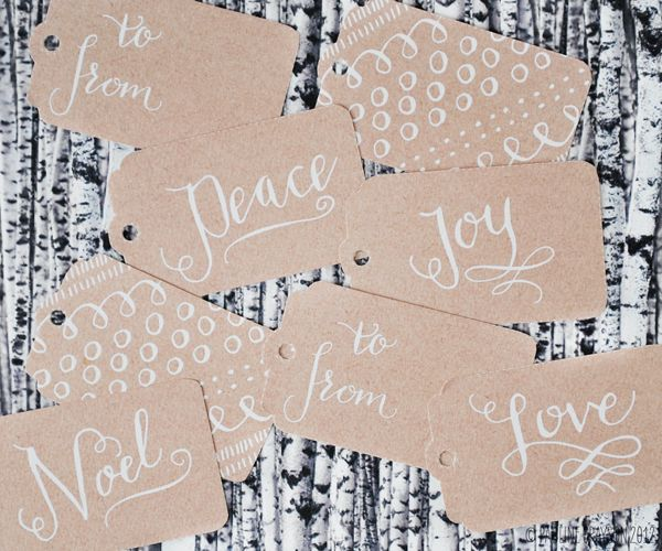 Printable gift tags: Sweet Muffin Suite