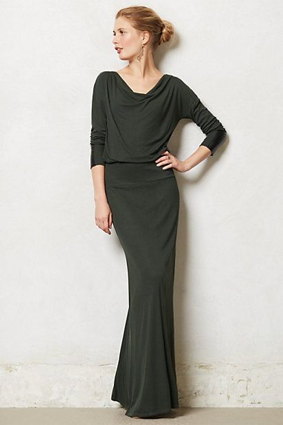 Cavatina Maxi Dress - simple and elegant #Anthropologie #AnthroFave