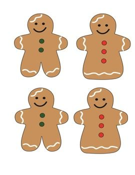 CHRISTMAS GINGERBREAD CLIP ART