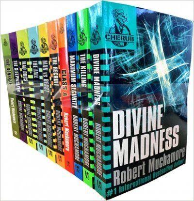 Robert Muchamore Cherub Series 10 Books Collection Set: Amazon.co.uk: Robert Muchamore: 8601400734902: Books