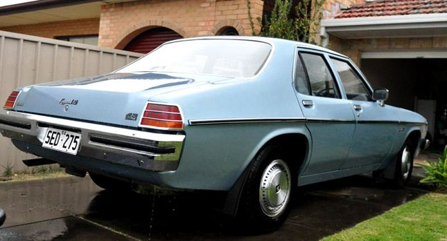 New 1979 Holden Kingswood HZ Steps Out of its Time Capsule