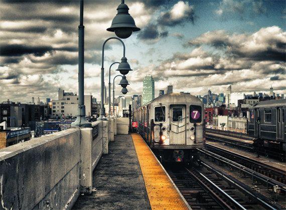 Seven Train Coming