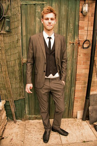 costume vintage homme mariage