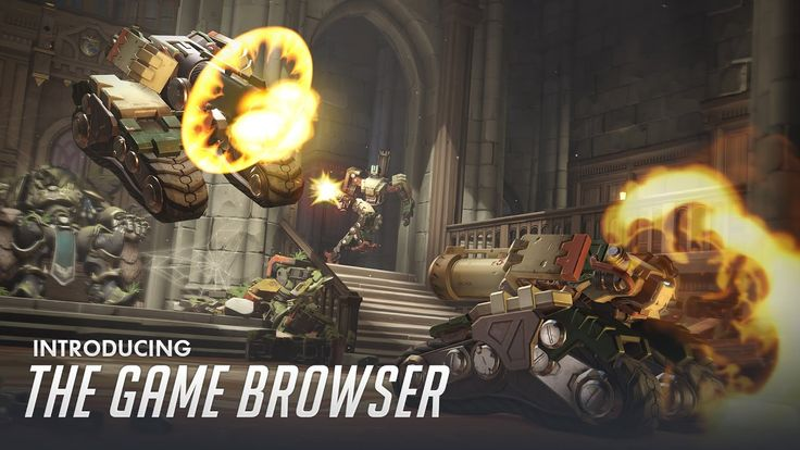 "In the new Overwatch server browser trailer is a lobby named ""SAXTON HALE BOSS FIGHT"" #games #teamfortress2 #steam #tf2 #SteamNewRelease #gaming #Valve"