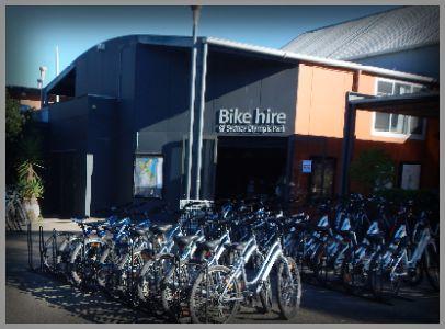 Bike Hire @ Sydney Olympic Park