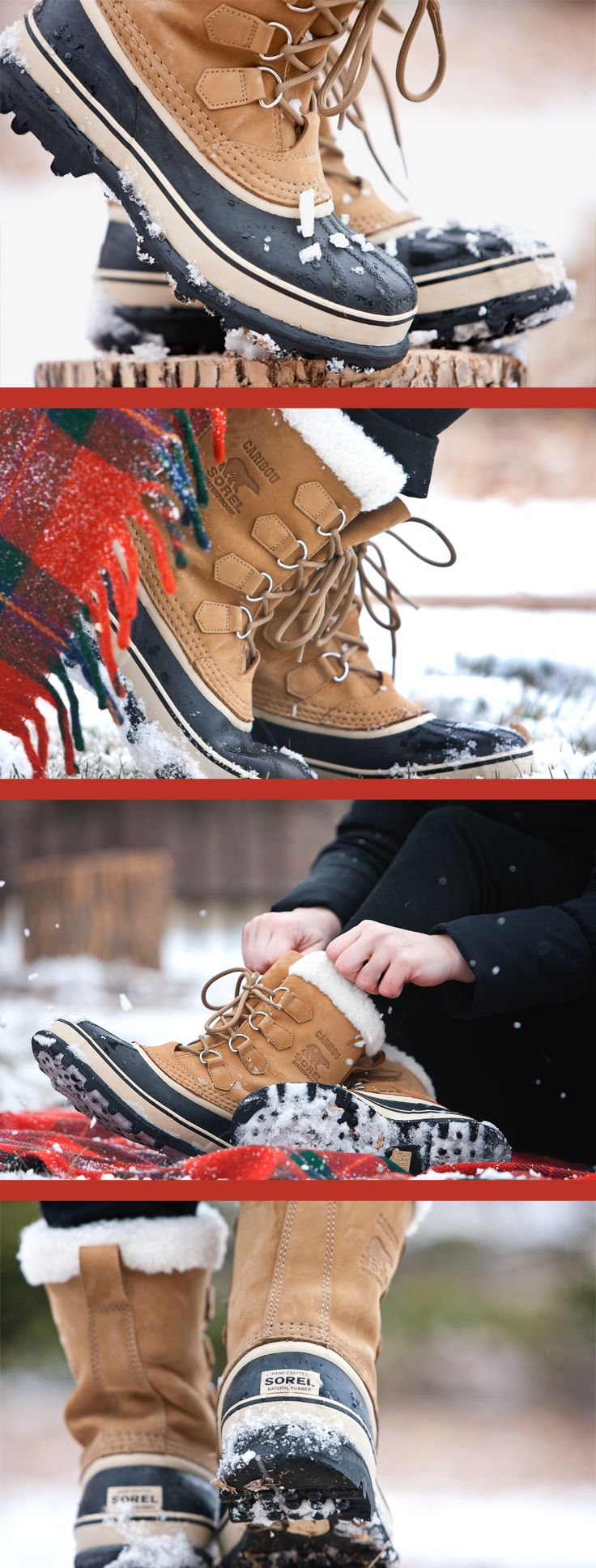 Often imitated but never equaled, the original Sorel boot features waterproof construction, seam-sealing and a removable ThermoPlus™ felt inner boot for warmth, comfort and protection in cold and wet winter weather.