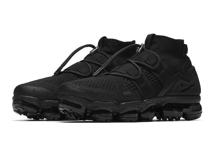 First Look: Nike Air VaporMax Flyknit Utility Triple Black