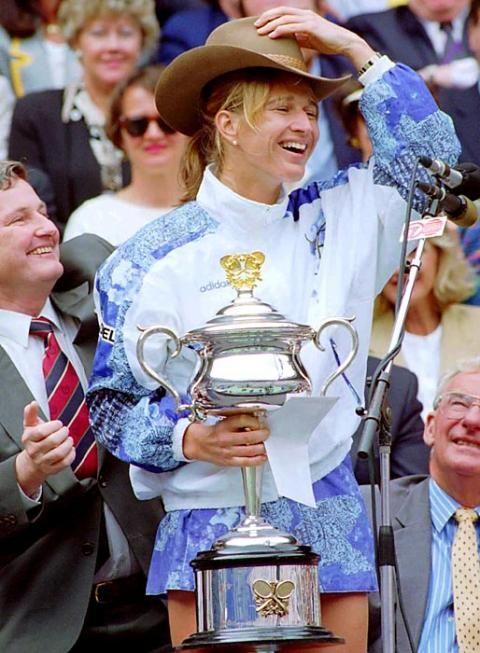 Steffi Graf Down Under- 1994 Australian Open champ!