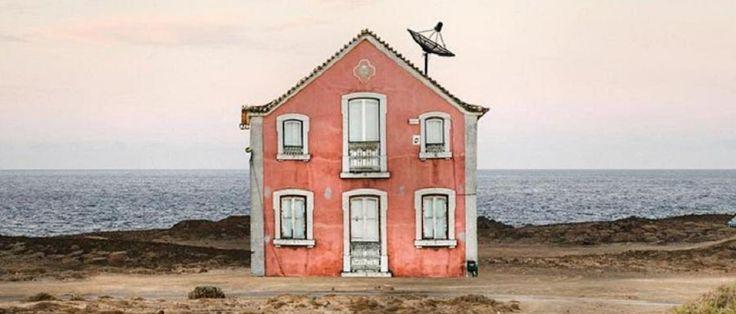 Opuszczone domy w Portugalii, które zachwyciłyby Wesa Andersona