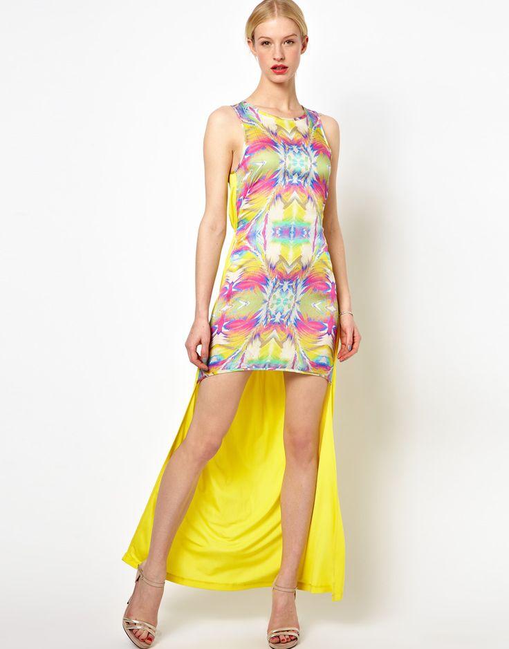 Kore by Sophia Kokosalaki - Kleid mit Prismenmuster
