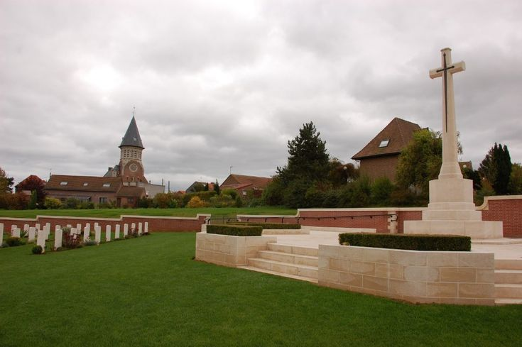19.7.1916, nr the village of Fromelles, 2 infantry divisions attacked the German frontline. It turned into a bloody catastrophe. Over 7000 KIA, wounded & MIA, it remains the worst day in Australian military history. Completed 7|2010, Fromelles (Pheasant Wood) Military Cemetery, 1st new war cemetery to be built by the CWGC in 50 years. It contains 250 Australian & British soldiers, remains recovered in 2009 from a number of mass graves located behind nearby Pheasant Wood, buried by the…