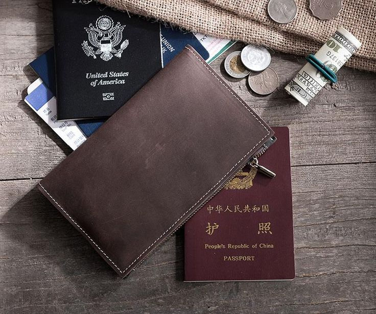 Overview: Design: Handmade Leather Mens Travel Wallet Passport Leather Wallet Short Long Wallets for MenIn Stock: Ready to Ship(2-4 days)Include: Only WalletC