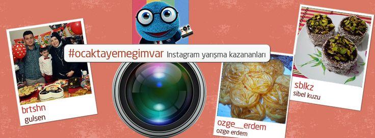 Ve işte #ocaktayemegimvar Instagram yarışmasının kazananları! Tebrikler! :)