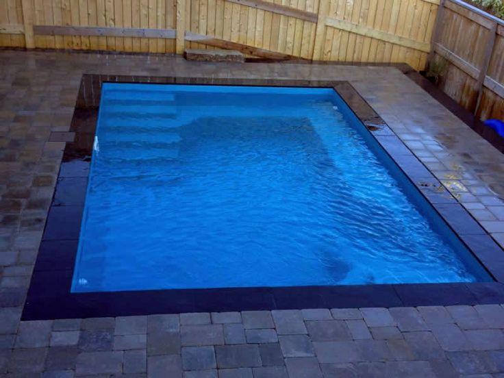 Best 25 Small Fiberglass Pools Ideas On Pinterest Small Pool Design Fiberglass Pools And