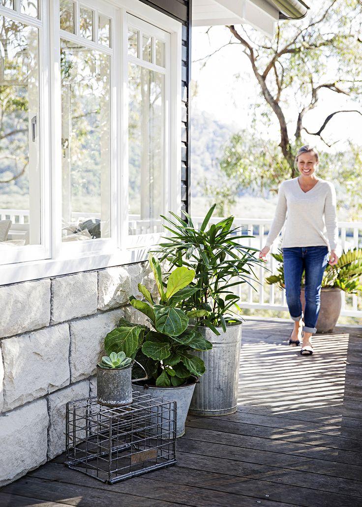 Style-savvy renovator Tara Dennis reveals how to turn plain pots into pretty planters