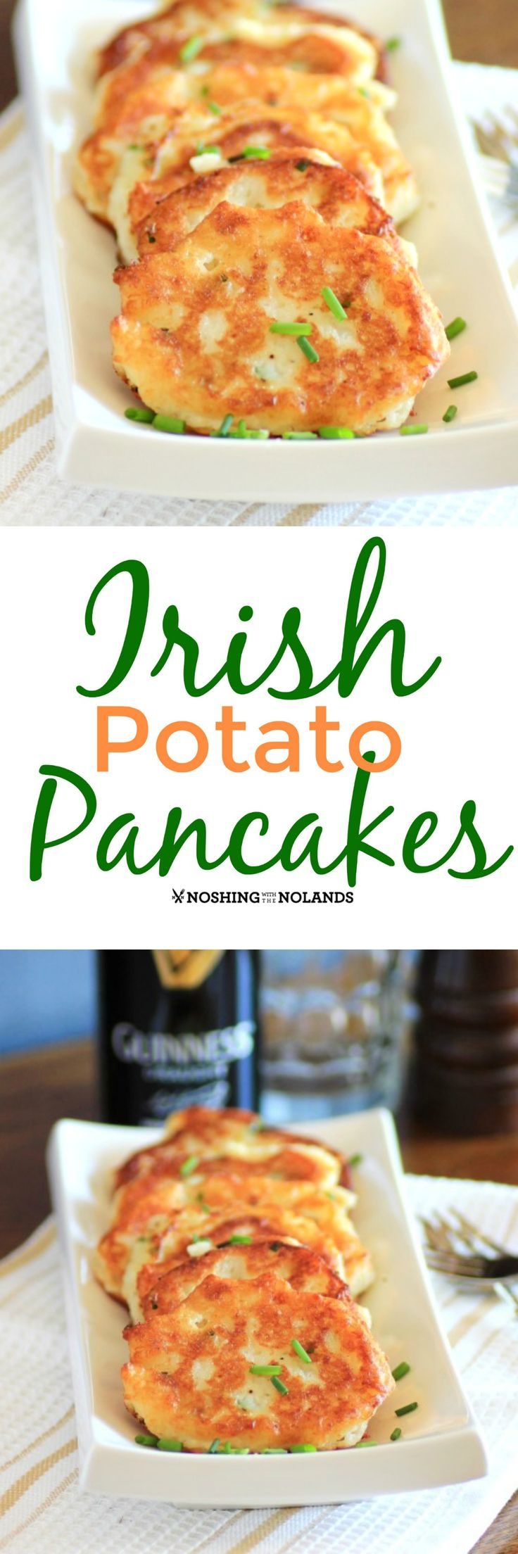 Potato Pancakes for St. Patrick's Day via @tnoland