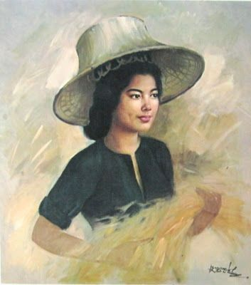 artist ĀBasuki Abdullah (b1915, Sriwedari, Surakarta, Indonesia)