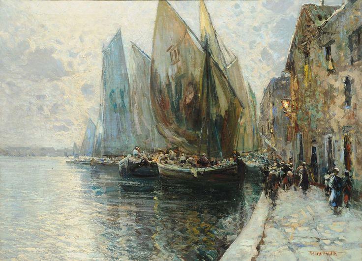 FAUSTO PRATELLA (1888-1964) CHIOGGIA