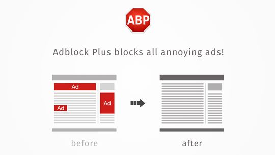 Adblock Plus Surf the web without annoying ads!